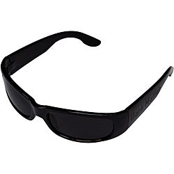 Men's Black Plastic/Poly Carbon Sport Sunglasses
