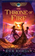 The Throne of Fire (Hardcover)