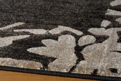 Dream Charcoal Border Rug (9'3 x 12'6)