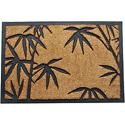 Tuff Brush Palm Leaves Door Mat (2' x 3')