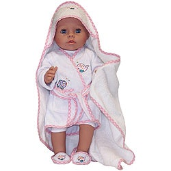 Molly P. Original 17-inch Mandy Bathing Doll in Terry Cloth Robe