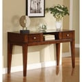 Furniture of America Emmie Tobacco Oak 2-drawer Console Table