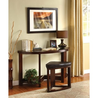 Furniture of America Gracie 2-piece Console Table Set