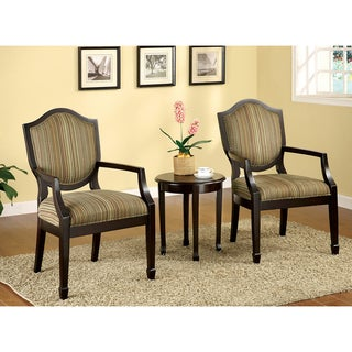 Caroline 3-piece Living Room Furniture Set