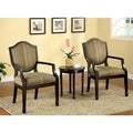 Furniture of America Caroline 3-piece Living Room Furniture Set
