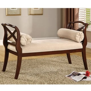 Bella Elegance Dark Cherry Sette Bench