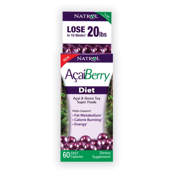 Natrol Acai Berry Diet (60 Tablets)