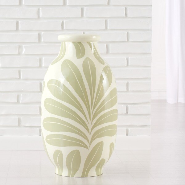 Desert Palm Modern Decor Vase (Indonesia)