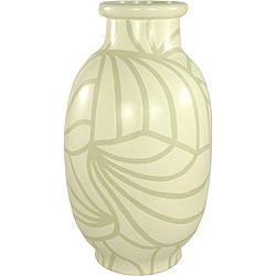 Desert Palm Modern Decor Vase (Indonesia)