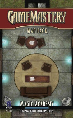 Gamemastery Map Pack: Magic Academy (Cards)