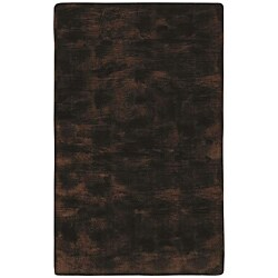 Faux Fur Brown/ Black Animal Rug (5' x 8')