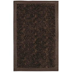 Faux Fur Brown/ Beige Animal Rug (5'6 x 8'6)