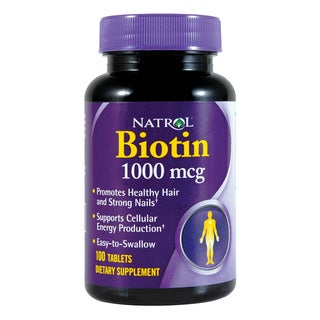 Natrol 1000mcg Biotin (100 Tablets)