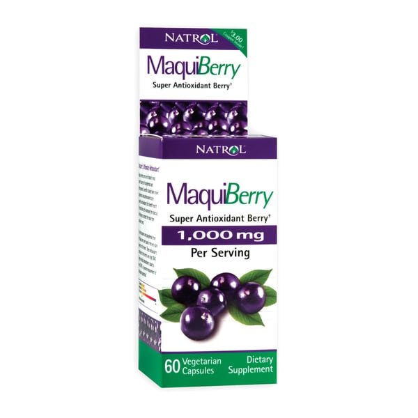 MaquiBerry 1000mg Super Antioxidant Capsules (60 count)