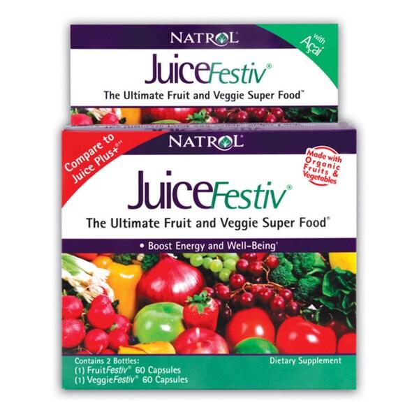 Natrol JuiceFestiv (60+60 Capsules)