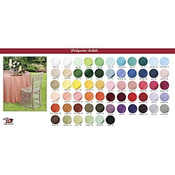 A-1 Tablecloth Company 120-inch Round Tablecloth (Case of 20)