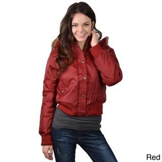 Greenlander Juniors Plaid Lined Nylon Jacket