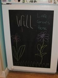 Appliance Art Instant Chalkboard Vinyl Applique