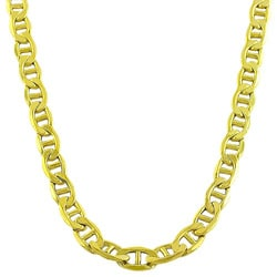 Fremada 10k Yellow Gold Mariner Chain Necklace