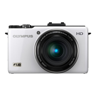 Olympus XZ-1 10MP White Digital Camera