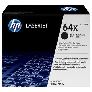 HP CC364XC High Yield Black Contract Original LaserJet Toner Cartridg