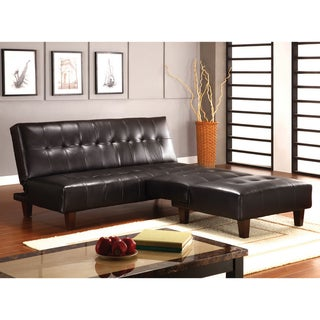 Furniture of America Peyton 2-piece Sofa/ Sofa Bed and Chair Set