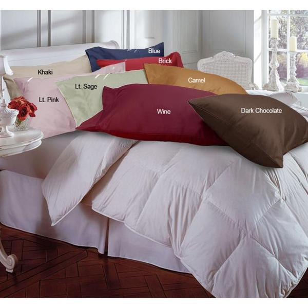 Cotton 233 Thread Count Pillowcases (Set of 2)