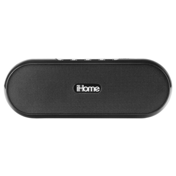 iHome iDM12 Rechargeable Portable Bluetooth Speaker System with Stand for iPad/iPod/iPhone