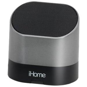 iHome iHM63 Speaker System - Silver