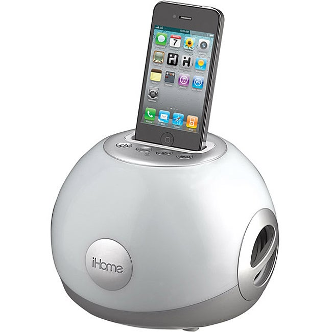 iHome iP15 Stereo LED Color Changing Speaker System with iPod/iPhone Dock