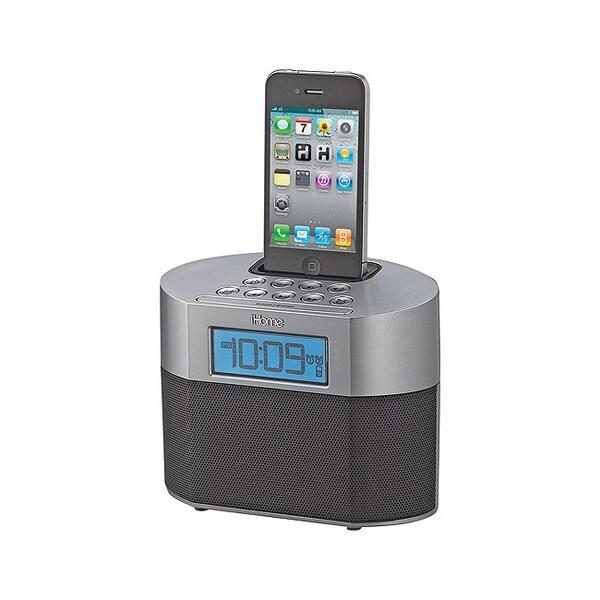 iHome Dual Alarm Clock with iPod/iPhone Dock