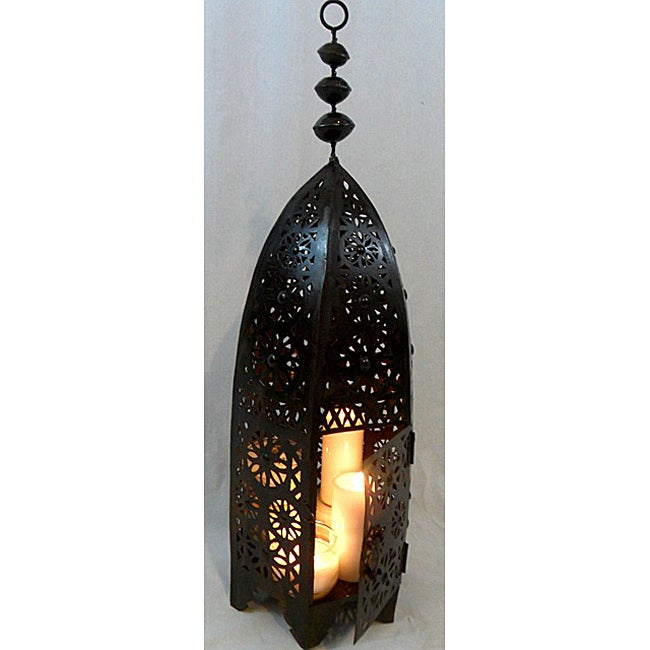 Moroccan Royal Bronze Floor Lamp (Morocco)