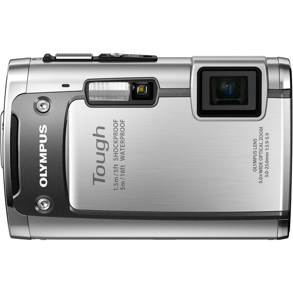 Olympus Tough TG-610 14 Megapixel Compact Camera - Silver