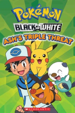 Ash's Triple Threat (Paperback)