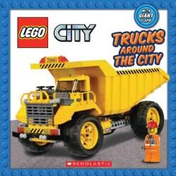 Trucks Around the City (Board book)