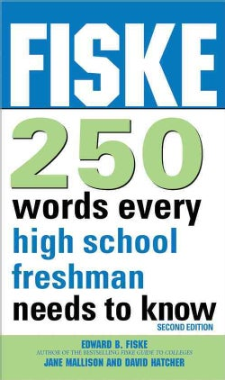 Fiske 250 Words Every High School Freshman Needs to Know (Paperback)