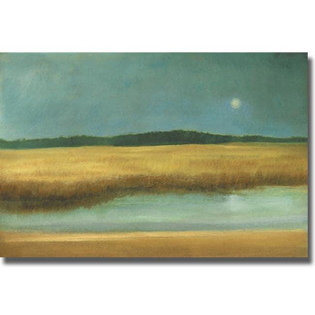 Caroline Gold 'Harvest Moon' Canvas Art