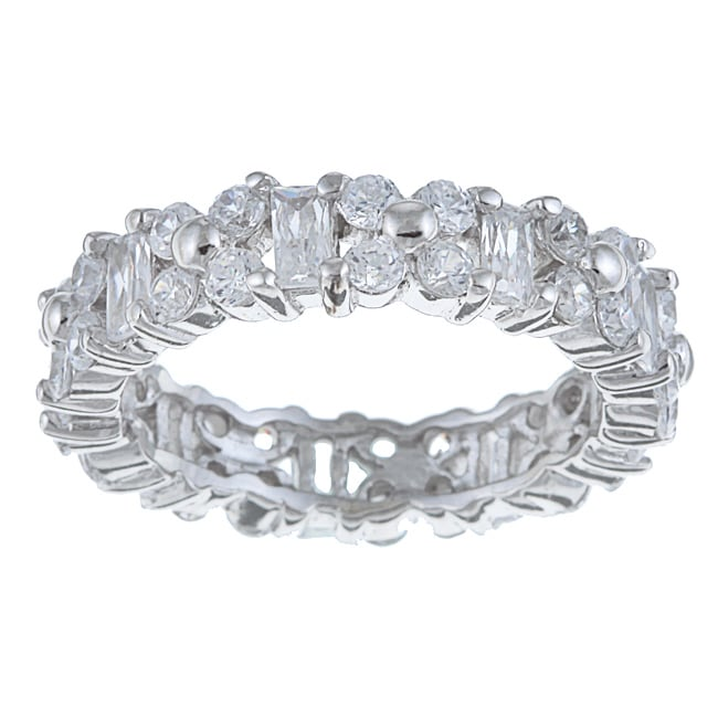 La Preciosa Sterling Silver CZ Ring