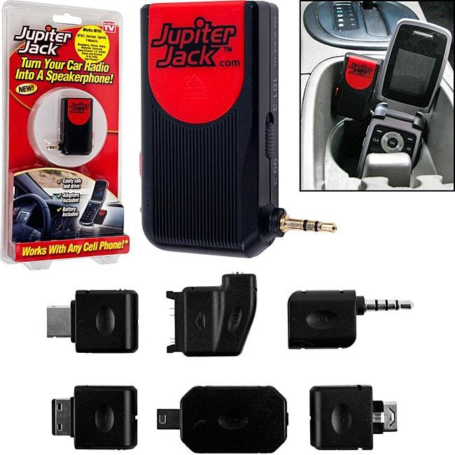 As Seen on TV Jupiter Jack Car Speakerphones (Pack of 2)