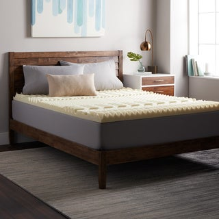 Select Luxury 3-inch Twin/ Full-size Memory Foam 7-zone Mattress Topper