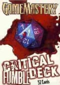 Game Mastery Critical Fumble Deck (Cards)