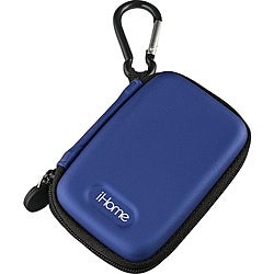 iHome Blue iHM11 Rechargeable Speaker Case for iPod nano 6G Or shuffle