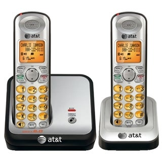 AT&T DECT Cordless Phone - Silver, Black