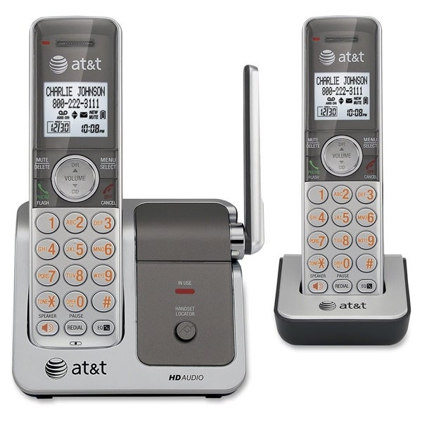 AT&T CL81201 DECT 6.0 Expandable Cordless Phone with Caller ID/Call W