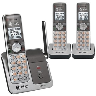 AT&T DECT 6.0 Cordless Phone - Silver Gray