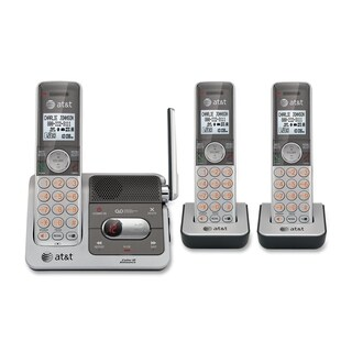 AT&T CL82301 DECT 6.0 Expandable Cordless Phone with Answering System