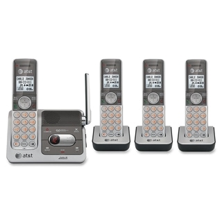 AT&T CL82401 DECT Cordless Phone - Silver, Black