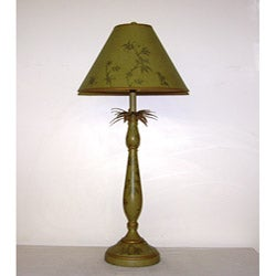 Monkey Olive Green Table Lamp