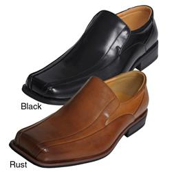 Boston Traveler Men's Slip-on Genuine Leather Loafers