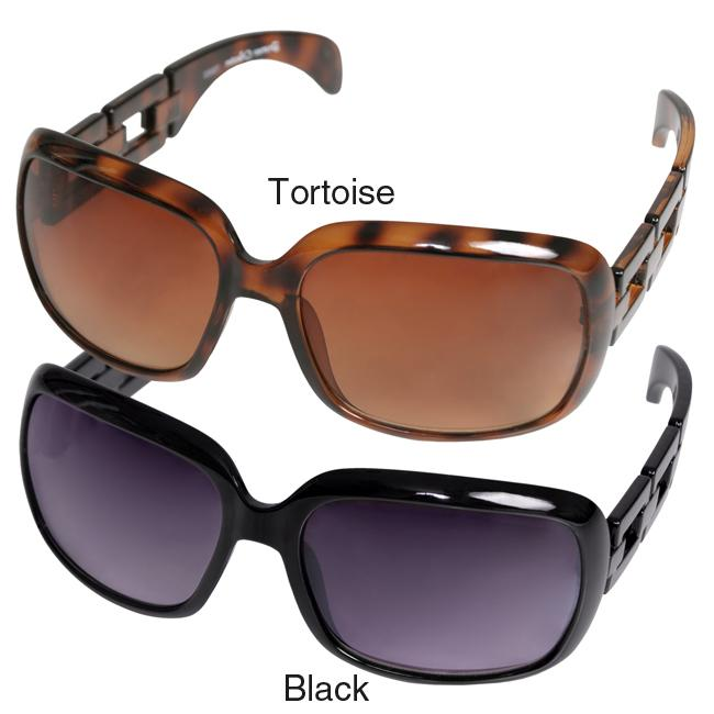 Journee Collection Women's '79950-S18' Chain Detail Fashion Sunglasses